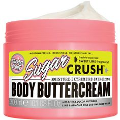 Soap & Glory Sugar Crush Body Buttercream, Sweet Lime Fragrance 10.1... found on Polyvore