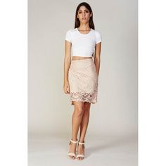 Lace Skirt - Designer Clothing by Label Collections