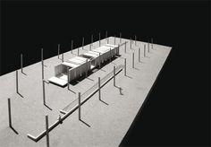 pabellón en un campo de limones    / Fran Silvestre Arquitectos