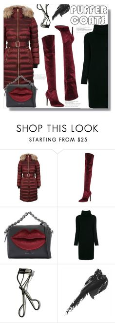"""""""Stay Warm: Puffer Coats"""" by queenvirgo on Polyvore featuring Burberry, Kendall + Kylie, Lamberto Losani and Bobbi Brown Cosmetics"""