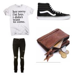 """""""Untitled #589"""" by jamiesowers14 on Polyvore featuring AMIRI, Vans, men's fashion and menswear"""