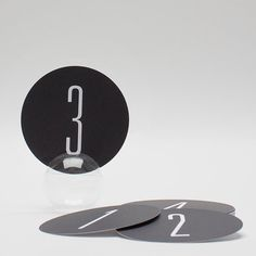 Modern Table Numbers 15 by PressedCotton on Etsy, $34.00