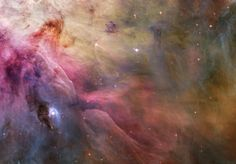 """Hubble Space Telescope Image Credit: NASA, ESA, and The Hubble Heritage Team """" This esthetic close-up of cosmic clouds and stellar winds features LL Orionis, interacting with the Orion Nebula flow. Cosmos, Carina Nebula, Orion Nebula, Helix Nebula, Andromeda Galaxy, Constellation Orion, Horsehead Nebula, Hubble Images, Hubble Photos"""