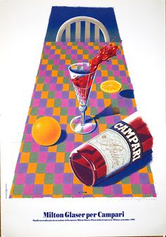 """Campari"" by Milton Glaser, 1992"