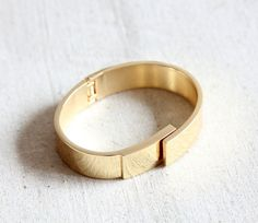 MINIMAL GOLD METAL CUFF by Jewel of a Girl