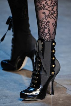 Why does everything have high heels? These would be perfect with just a small 1 inch heel.