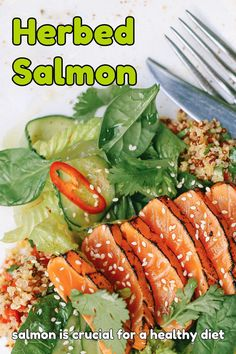 Salmon is considered as the healthiest fish on the market. Packed full   of essential omega 3's fatty acids, Vitamin D and protein, salmon is   crucial for a healthy diet.