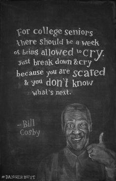 Week 8: Bill Cosby Chalkboard on Behance by Dangerdust