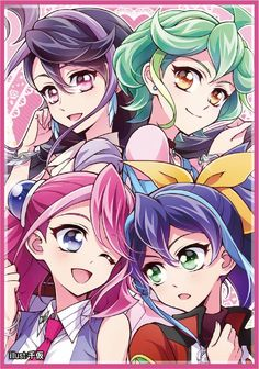 Ruri, Rin, Serena and Yuzu