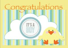 This is a real card (not an e-card). Send this card now.  This is a cute card to send to the parents of a new baby boy It is ready for you to edit and send or check out other similar cards I have collected for you to view in my Baby Announcements / Congratulations on Sendcere. All can be modified with you own messages and by adding your photos or use for ideas to create your own card in SendOutCards. For a limited time you can send a card at no cost, my gift to you to try SendOutCards.