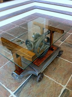 old fargo truck tailgate coffee table … | pinteres…