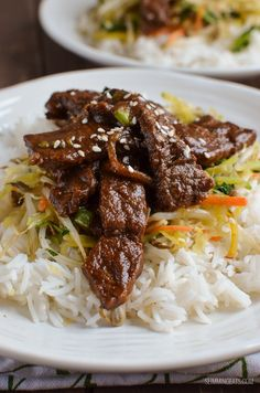 Slimming Eats Low Syn Korean Style Beef (bulgogi) - gluten free, dairy free, paleo, Slimming World and Weight Watchers friendly Asian Recipes, Beef Recipes, Cooking Recipes, Healthy Recipes, Healthy Foods, Soup Recipes, Healthy Soup, Healthy Eats, Weights