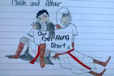 Assassins Creed Altair and Malik's 'get along shirt'