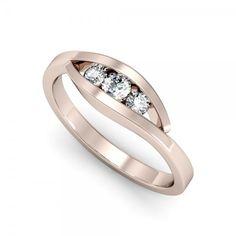 Der bezaubernde triology in Rosegold mit atemberaubendem Design. #wunderschön #beauty #love #lucky #forever #mariage #verlobung #ring