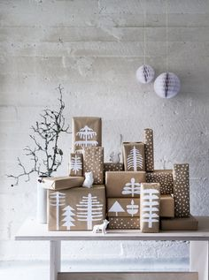Inspiration for gift wrapping