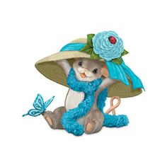 Ovarian Cancer Support Maxine By Charming Tails' Dean Griff