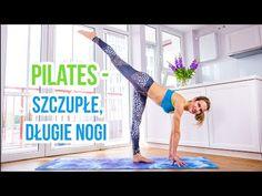 Pilates - zestaw ćwiczeń na szczupłe nogi - YouTube Yoga Fitness, Health Fitness, Thigh Exercises, Inner Thigh, I Can Do It, Pilates, Thighs, Gym, Workout
