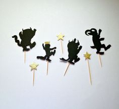 Where The Wild Things Are Cupcake Toppers Where The by ggparties