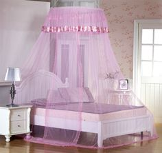 The summer bed the mantle Princess dome mosquito net hanging mosquito nets ceiling hangings unadorned yarn Qingwu
