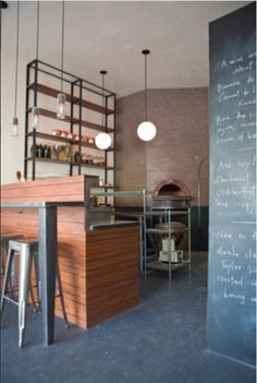 industrial kitchen slate floor - Google Search