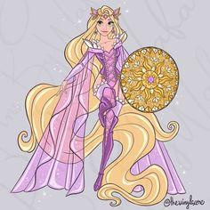 Disney Princess Drawings, Disney Princess Art, Disney Rapunzel, Arte Disney, Disney Drawings, Disney Magic, Disney Artwork, Disney Fan Art, Disney Love