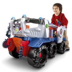 Shop for Imaginext® Battle Rover and buy something that will spark your child's imagination. Find the perfect action toys featuring pirates, dinosaurs and dragons from Imaginext and Fisher-Price.