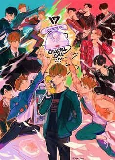 svt becomes vsco girls. Wonwoo, Woozi, Jeonghan, Steven Universe, Kpop Anime, Astro Sanha, Day6 Sungjin, Seventeen Memes, Kpop Drawings