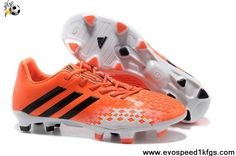 quality design d3b12 006aa Buy New Orange Black White 2013 adidas Predator Football Shoes On Sale  Botas De Fútbol,