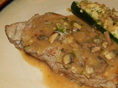 Filet Mignon w/Rosemary & Mushroom Gravy