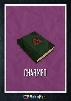 Charmed - Minimalist Poster by ~Platre on deviantART