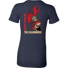 Fairy Tail - Natsu The Salamander - Woman Short Sleeve T Shirt - TL01125WS