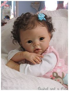 CUSTOM Order for Reborn KRISTA Baby Doll by BushelandaPeckReborn: