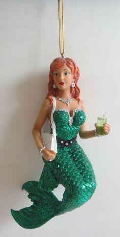 Fun mermaid and mermen ornaments... Though they need more redheads! Soda Min/3