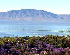 Lago Chapala, Ajijic, Jalisco Aqui tambien estuve unas cuantas  veces y la mas hermosa fue una en un mes de Febrero¡¡
