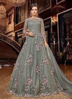 Looking to buy Anarkali online? ✓ Buy the latest designer Anarkali suits at Lashkaraa, with a variety of long Anarkali suits, party wear & Anarkali dresses! Designer Salwar Kameez, Designer Anarkali, Wedding Salwar Kameez, Lehenga, Anarkali Dress, Anarkali Suits, Nikkah Dress, Long Anarkali, Indian Gowns Dresses