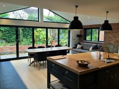 kitchen diner extension - Google Search