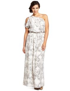 93bf4978341 Jessica Simpson Women s Plus Size One Shoulder Dress