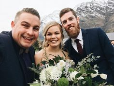 Those mountains in the background they're called The Remarkables. Today we celebrated Jess & Jonno's remarkable marriage a marriage that amazing that everyone around them is able to remark on  remark-able.  Jon  Jess #marriedbyjosh with @elopementcollective @crimsonweddingflowers and @heartandcolour   #MarriedByJosh #ElopementCollective #Wedding #WeddingCelebrant #MarriageCelebrant #Marriage #Celebrant #NewZealand #Queenstown #QueenstownElopement #QueenstownCelebrant #QueenstownWedding…