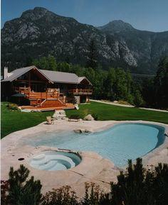 Zero Entry Pool - Natural - rustic - pool - vancouver - Alka Pool Construction Ltd