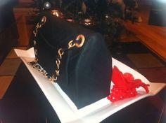 Chanel Classic Bag Cake — Clothing / Shoe / Purse