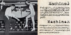 Machina - Webfont & Desktop font « MyFonts