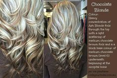 Silver blonde brown