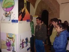 """2009-02-02 DD.HH. en Cáceres. Exposición """"Otra lectura de los Derechos Humanos"""""""