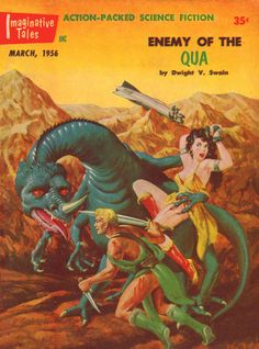 Enemy Of The Qua – Pulp Covers