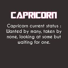 #Capricorn #Female