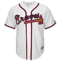 Dansby Swanson Atlanta Braves Majestic Home Official Cool Base Replica Player Jersey - White Braves Baseball, Baseball Jerseys, Baseball Uniforms, Baseball Bats, Braves Game, Sports Jerseys, Baseball Stuff, Atlanta Braves Cake, Dansby Swanson
