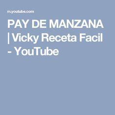 PAY DE MANZANA | Vicky Receta Facil - YouTube