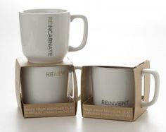 The First Recycled Ceramic Mug