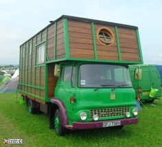 'House Box' Co's TK Horse Box With Green Cab 2011 :: Traveller Homes