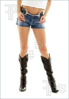 cowboy boots and shorts - Bing Images